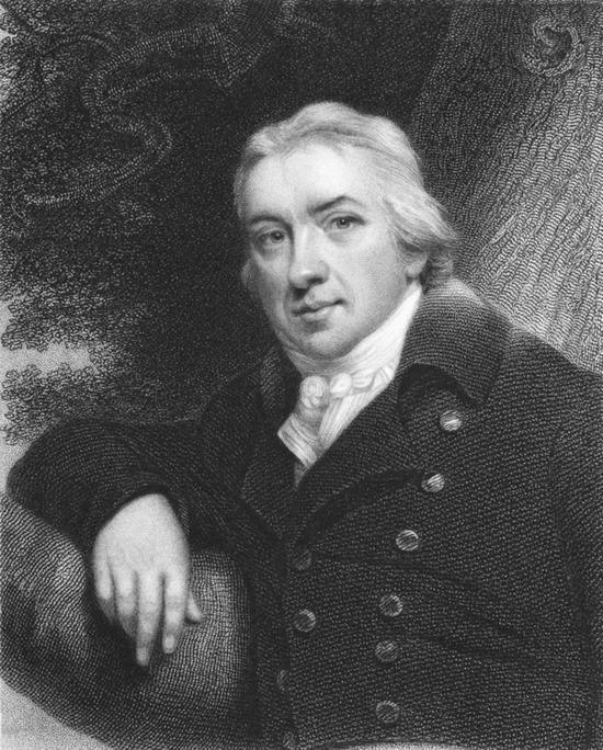 詹纳(Edward Jenner,1749―1823)