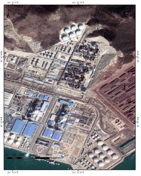 (E)大连的石化工类工厂