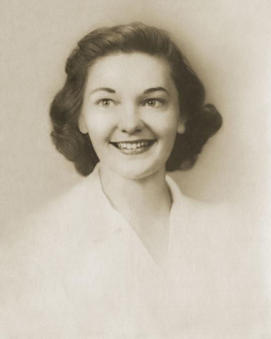 为客户修复母亲年轻时的唯一一张照片