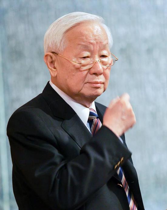 台积电创始人张忠谋。来源:视觉中国