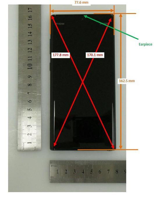 三星Note 10通过FCC认证 定妆照显示取消耳机孔和Bixby按钮