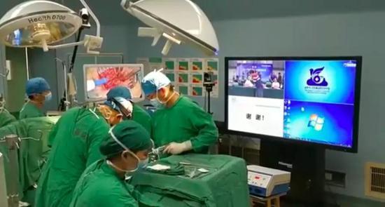 高州市人民医院手术现场