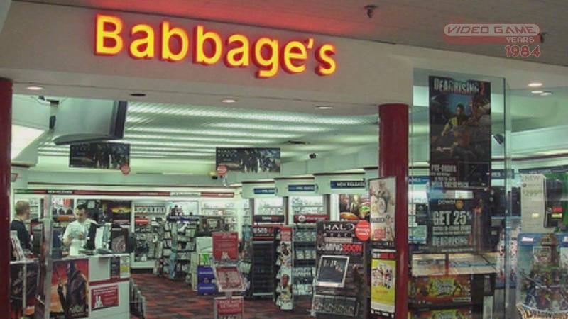 """21世纪初期,幼批保留了""""巴贝奇""""名称的电子游戏商店"""