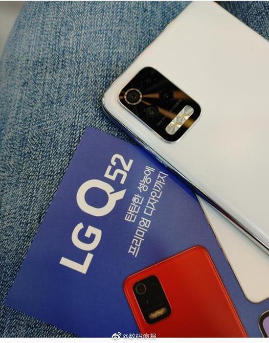 LG Q52手机宣传单真机图曝光,配备3GB+32GB起步内存组合