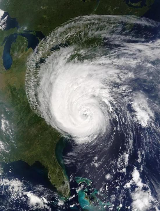 斐波拉契螺旋线——台风的流动规律