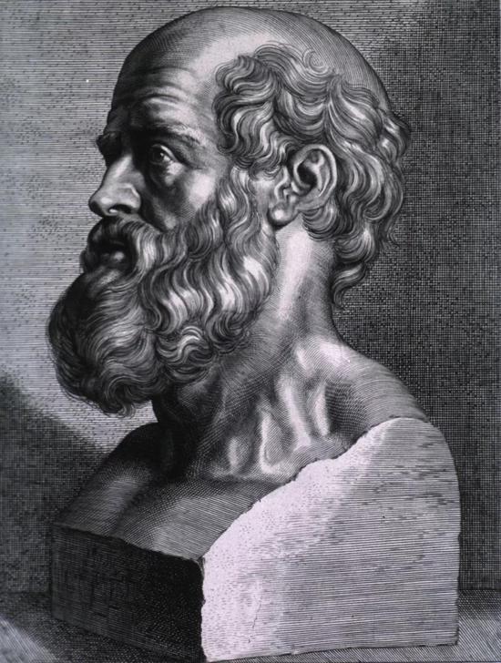希波克拉底半身像