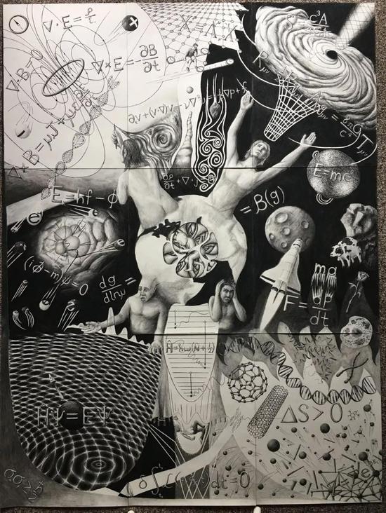 隐藏在这幅画中的17个不同的物理世界