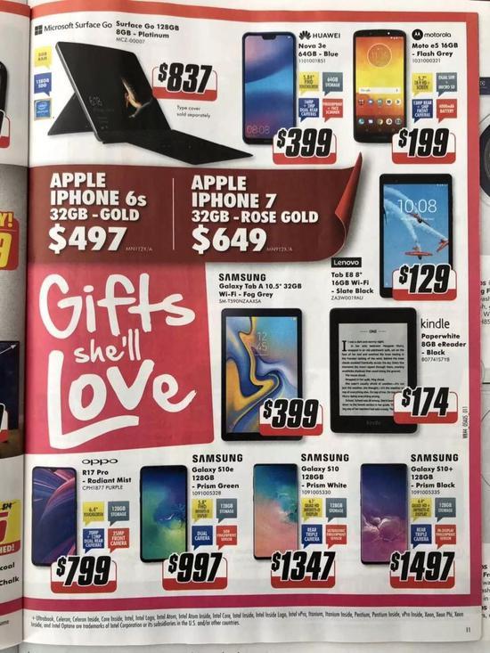 澳洲当地报纸上的超市促销页面摄影/张彦斌