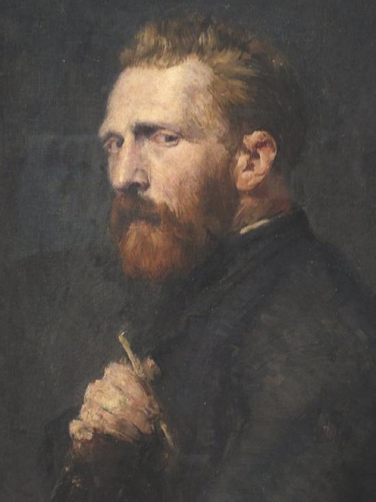 梵高被认为是有严重幻听问题的名人之一。by John Peter Russell, 1886