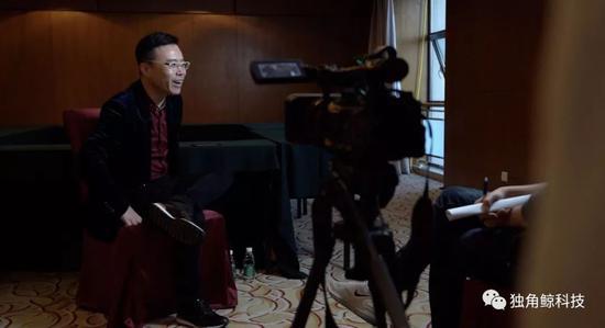 深圳市云歌人工智能科技有限公司 创始人、CEO 王欣 新京报记者徐天鹤/摄
