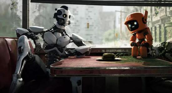 ▲ 第2集《Three Robots》