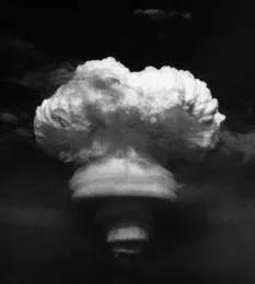 1967年6月17日,中国第一颗氢弹空爆试验成功照片