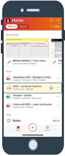 iOS端Office新预览版发布:引入离线PDF阅读等诸多新功能
