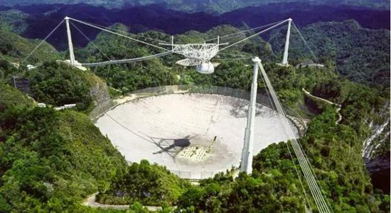 阿雷西伯射电望远镜 图片来源:Arecibo Observatory