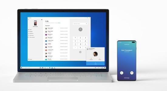 微软Win10 20H1快速预览版18999推送 PC已可拨打电话接听来电