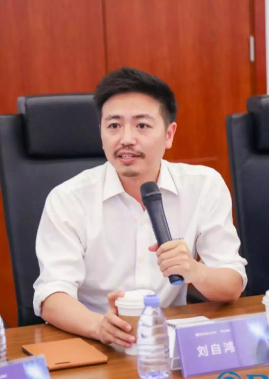 柔宇科技创始人兼CEO刘自鸿。来源:被访者