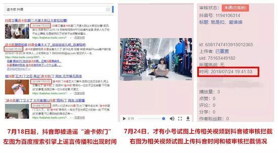 """抖音回应""""XX门""""谣言:相关视频从未在抖音出现 已起诉的照片 - 2"""