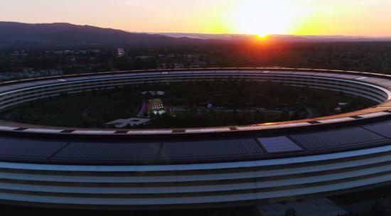 Apple Park价值41.7亿美元 已是世界最昂贵建筑之一