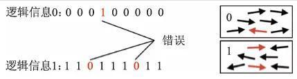 图2 经典纠错码和经典信息存储