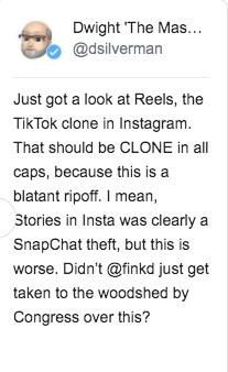 山寨后再推高仿:接盘TikTok Facebook是认真的