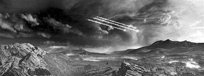 地球上的生命可能都源于伊利氰化物陨石?