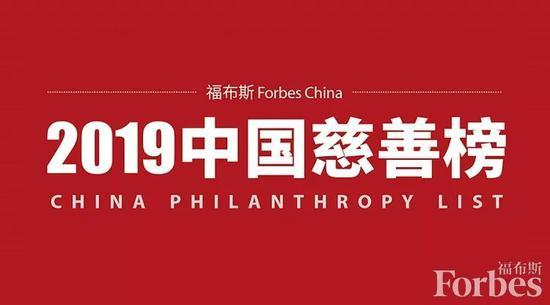 2019中国慈善榜发布(附2019福布斯中国慈善榜全榜名单)