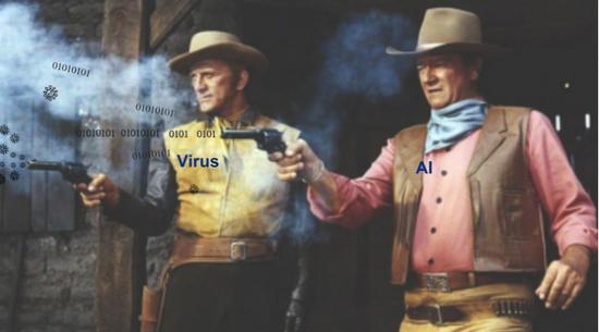 病毒和AI是人类下一个10年的挑战吗,图片改自mostlywesterns.com