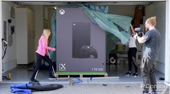 微软将正式投产Xbox Series X迷你小冰箱