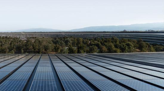 蘋果開始幫助其供應商進行過渡到可再生能源的嘗試