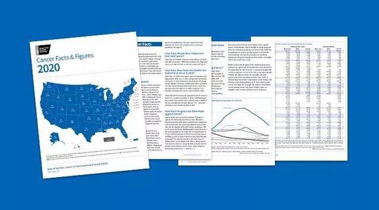 美国肿瘤学会公布的2020美国癌症统计(图源:cancer.org)