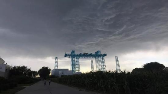 在北京东南郊建的试验场。