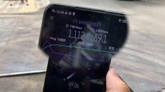 5G最新路测:这儿的速度竟然有1100 Mbps
