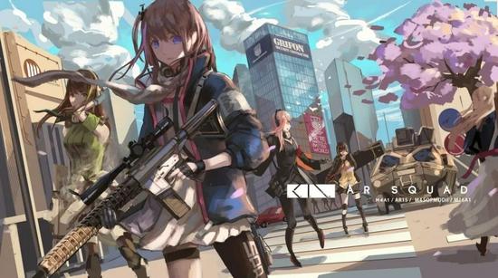 《少女前线》游戏画面