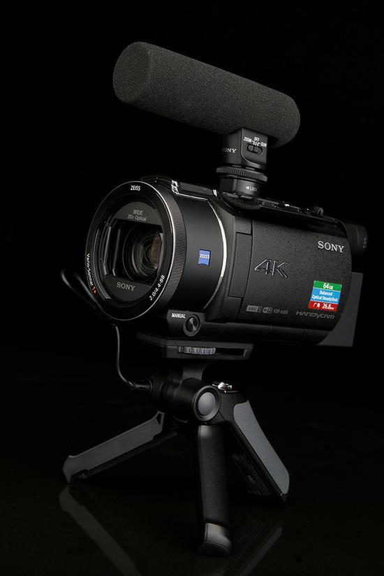 索尼4K数码摄像机FDR-AX60
