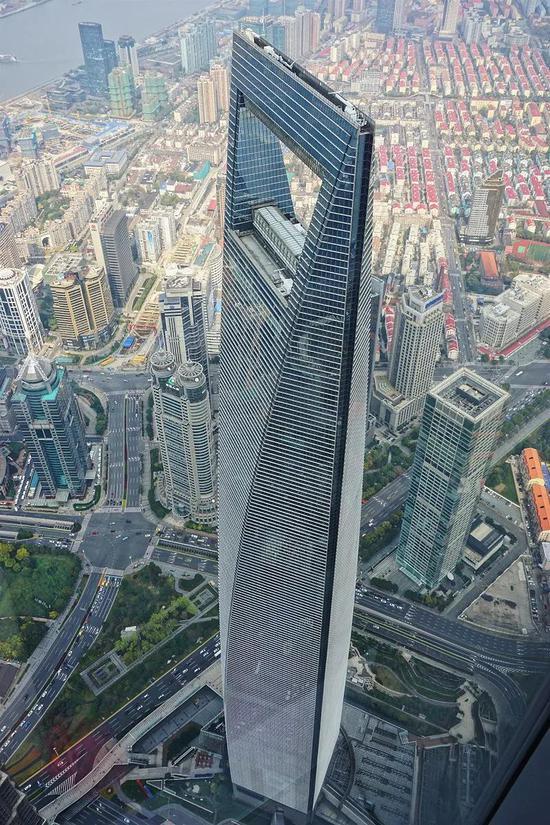 上海国际金融中心 | 图源:Wikipedia