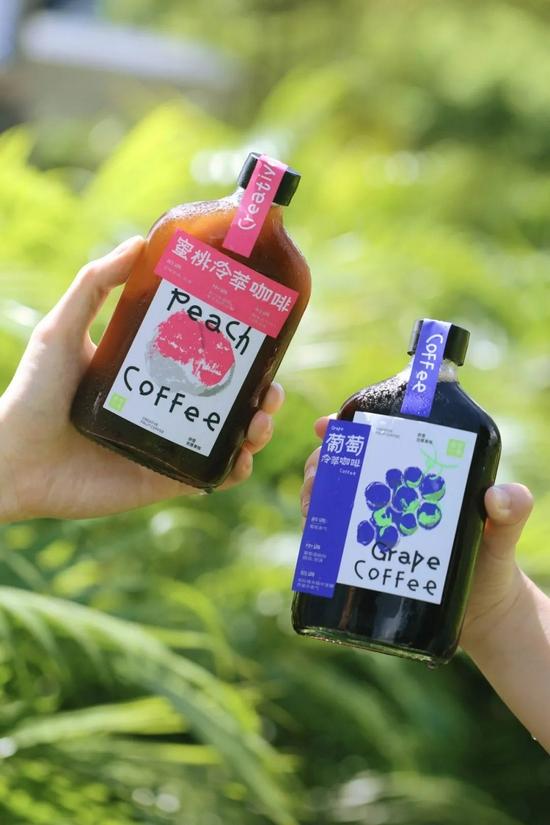 冷萃咖啡,图源奈雪的茶微博