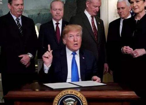 特朗普回应限制中国投资美国科技公司:针对所有国家