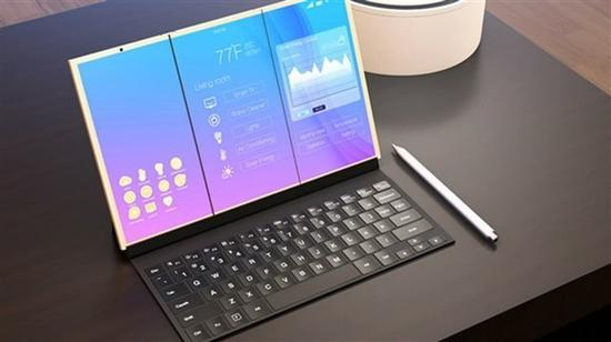 华为折叠屏概念 手机要革命笔记本?