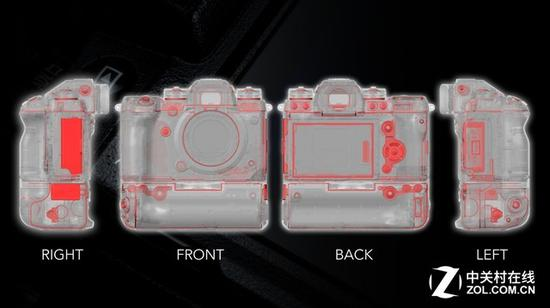 專業相機和鏡頭,還會在各種接縫處做好密封防護,這樣降低了寒冷天氣使用的風險