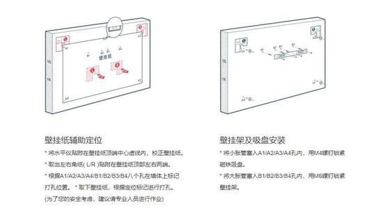 小米壁画电视的安装稍显复杂