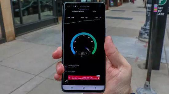 5G速度将使下载速度更快。(图片来源:TechRadar)