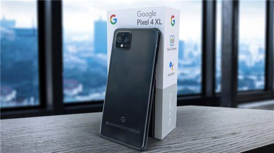 疑似谷歌Pixel 4 XL渲染圖(圖源網)