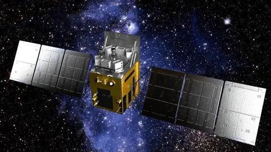 图15 中国硬X射线调制看远镜(HXMT)卫星模拟暗示图