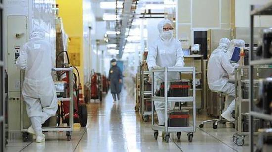 中芯国际位于上海的晶圆厂