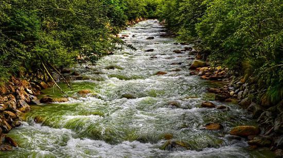 河流,水圈的重要组成
