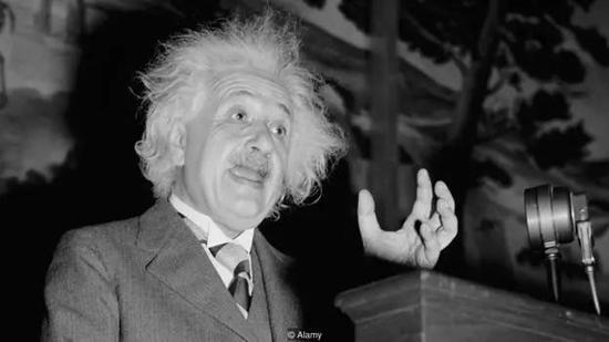 人们认为许多创造力丰富的天才——如阿尔伯特·爱因斯坦——也许都是自闭症患者。图源:Alamy