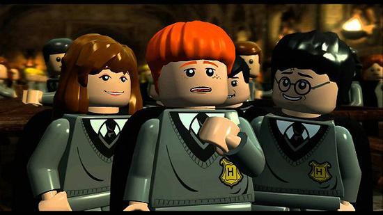 哈利波特主题乐高电子游戏。