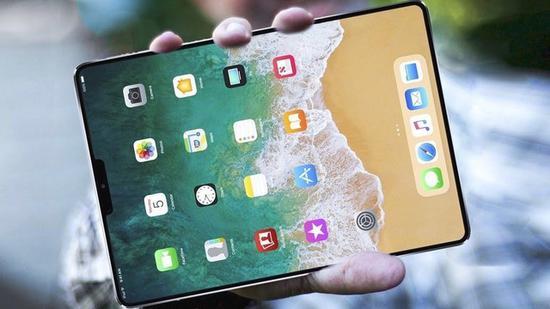 新款iPad Mini 5假想图(图片来源:bing)