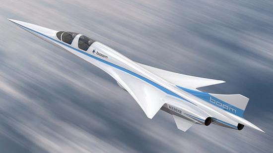 (Boom Supersonic的XB-1測試機渲染圖圖源:Boom)