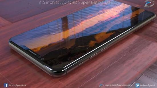 新iPhone XI Max侧面按键(图:techconfigurations)